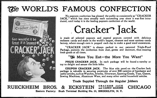 The Story of Cracker Jack - 1915