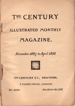 The Century Illustrated Montly Magazine, April 1888