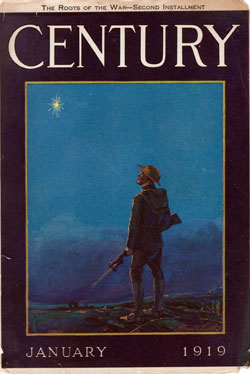 Front Cover, The Century Magazine, January 1919