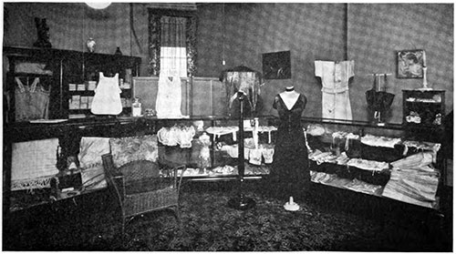 Lingerie Shop in Minneapolis circa 1921