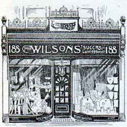 John Wilsons' Successors Ltd. Building on Regent Street in London