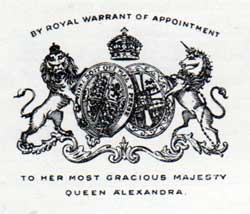 Logo of HM Queen Alexandra
