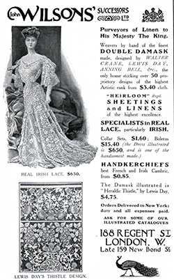 John Wilson's Successors - 1907 Fashion Advertisement