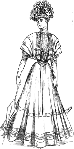 Sketch 1: The World of Dress - Women's Fashions - 1907