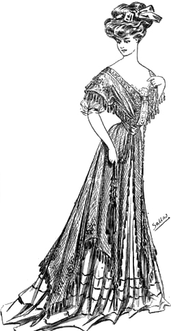 Sketch 2: The World of Dress - Women's Fashions - 1907