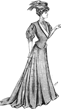 Sketch 4: The World of Dress - Women's Fashions - 1907