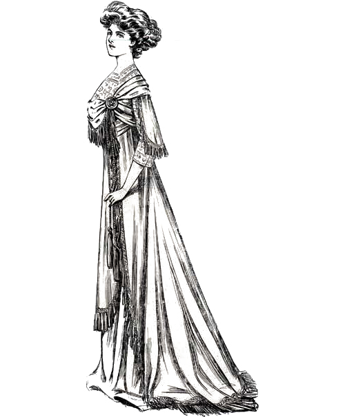 Sketch 1 - The World of Dress - 1908