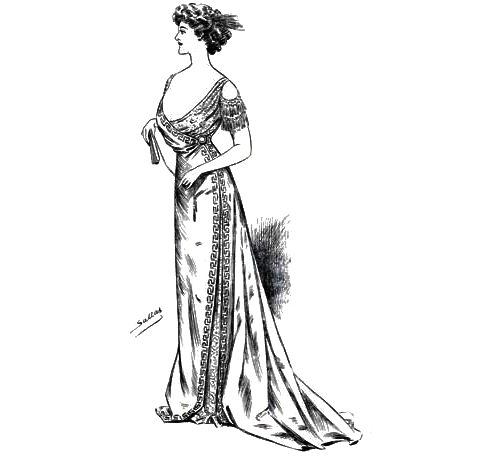 Sketch 2 - The World of Dress - 1908