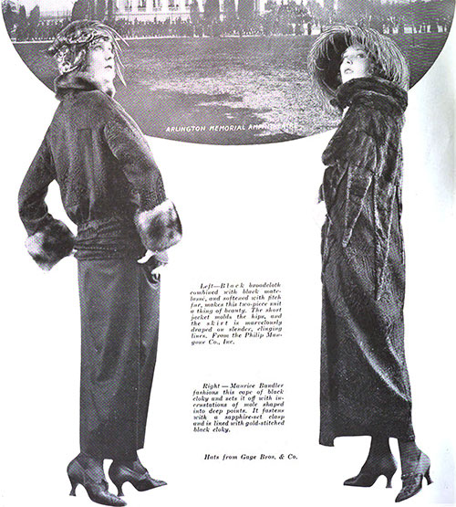 2-Piece Suits for Fall 1922