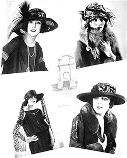 Fall 1922 Hat Styles