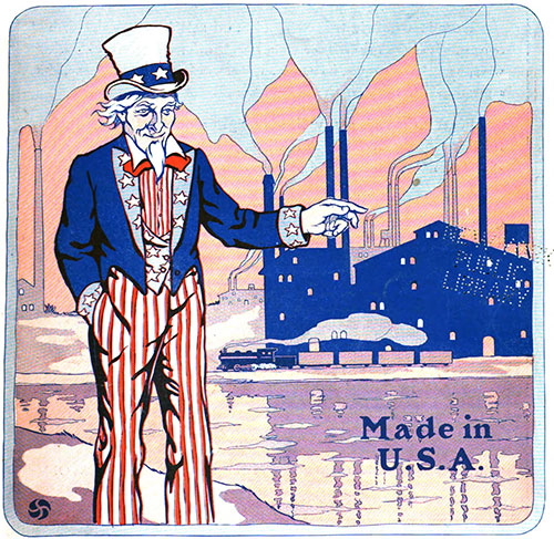 Made in USA - Uncle Sam