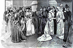 A Fashionable Wedding in Paris 1892