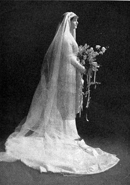 Society Bride Wilfreda Mortimer