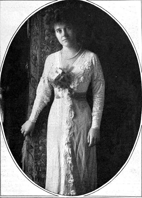 Wedding Dress of Mrs. Marsh Hurst Durston