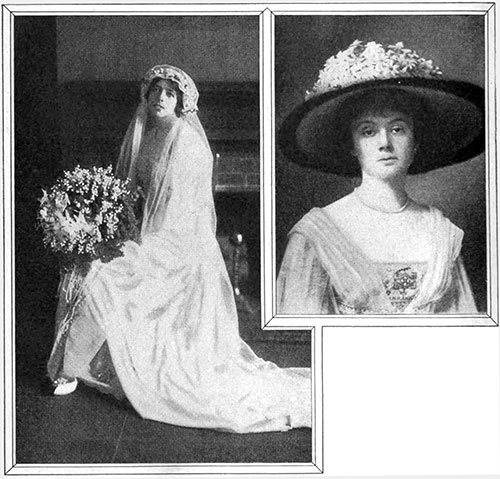Wedding Dress of Mrs. Russel Barrage