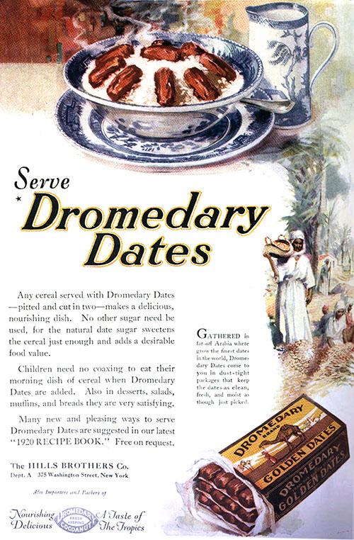 Serve Dromedary Dates on Cereal