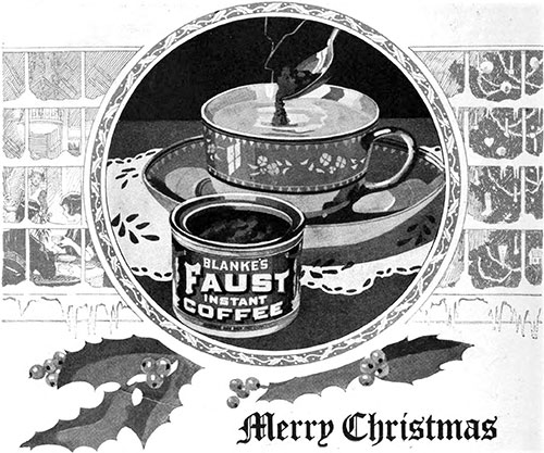 Blanke's Faust Instant Coffee
