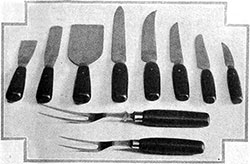 Concerning Kitchen Cutlery - 1921