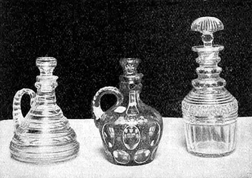 Old and New Glass Decanters