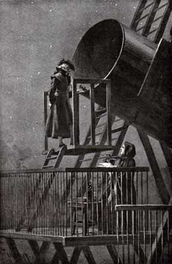 Herschel and his Sister at the Telescope