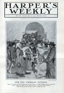 Harper's Weekly, Saturday, May 23, 1903 Front Cover