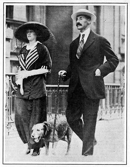 Colonel John Jacob Astor and His Young Wife