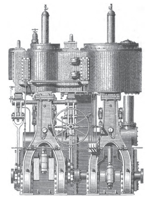 The Compound Engine Used in Steamships