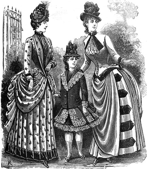 Plate 7: Two Toilettes and Visiting Dress