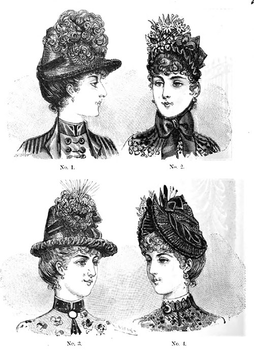 Plate 8: Parisian Millinery.