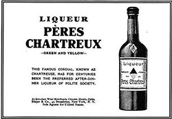 Pères Chartreux - Green and Yellow Liquor © 1907