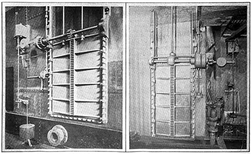 The Heavy Electrically Operated Watertight Doors of the Olympic and Titanic.