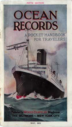 Ocean Records: A Pocket Handbook for Travelers, Fifth Edition
