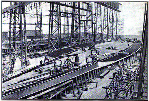 Constructing the Double Bottom of the Titanic at the Harland & Wolff Yards