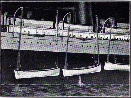 The Arrival of the Carpathia in New York Harbor with Survivors of the Titanic