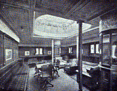 "FIRST CLASS SMOKING ROOM—""TOMASO DI SAVOIA"" AND ""PRINCIPE DI UDINE"""