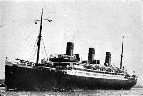 View of the SS Reliance of the United American Lines