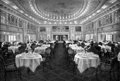View of the First Cabin Dining Saloon
