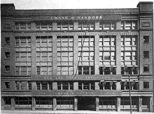 The Chase & Sanborn Headquarters at 200 High St., Boston