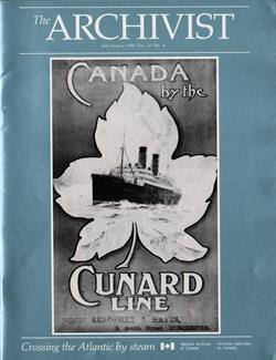 The Archivist, Canada by the Cunard Line: Crossing the Atlantic by Steam, July-August 1990