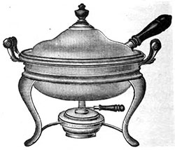 The Merits of the Chafing Dish - 1913