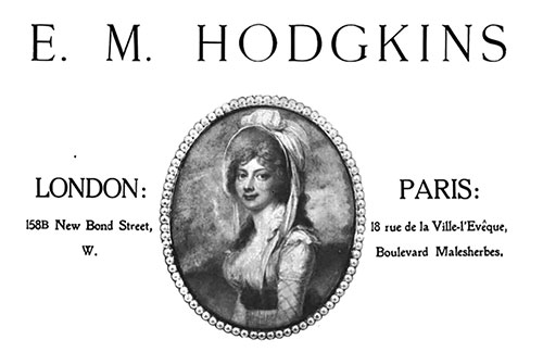 E. M. Hodgkins – Works of Art, Drawings, and Pictures