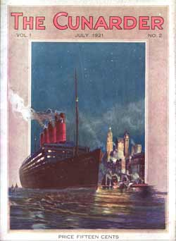 The Cunarder , July 1921