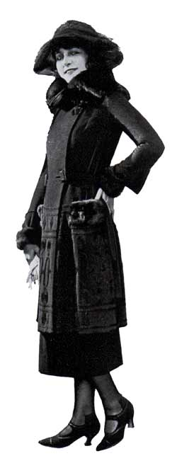 Martha Mansfield wearing this Joseck Suit of Veldyne