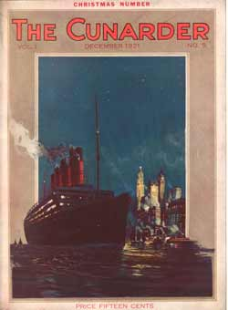 The Cunarder Magazine from December 1921