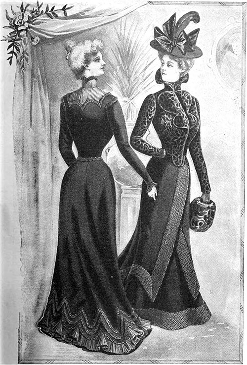 Mourning Costumes 1900
