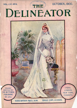 Front Cover, The Delineator Magazine, October 1900