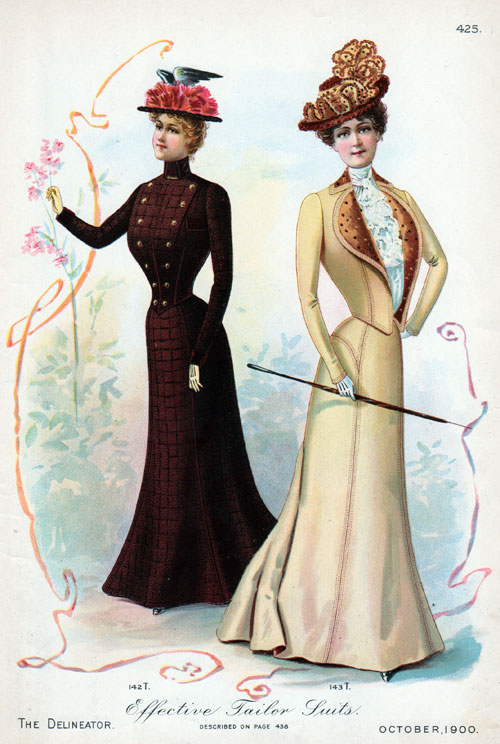 Vintage Fashions Effective Women S Tailor Suits 1900 Gg Archives