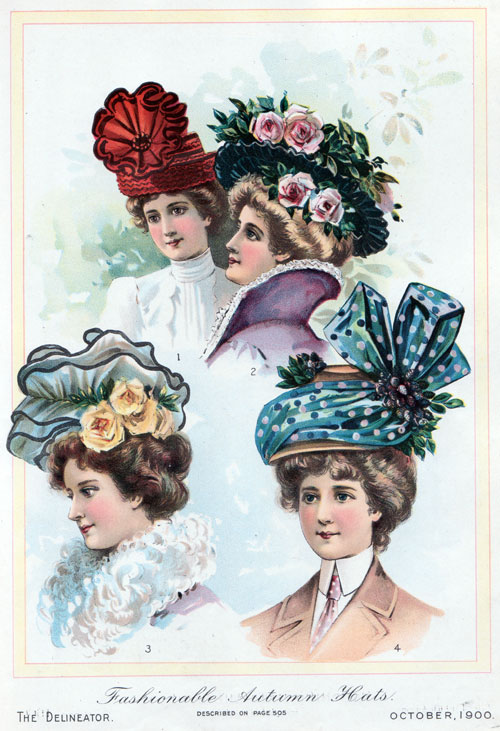 early 1900s fashion hats - photo #16
