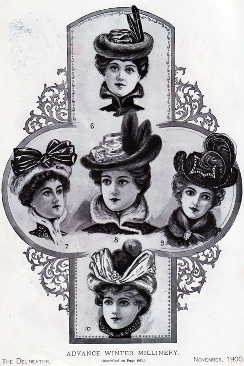 early 1900s fashion hats - photo #21