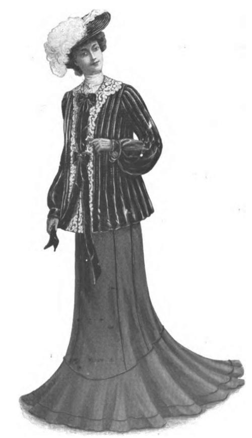 Figure 111 G: Ladies' Coat and Skirt.